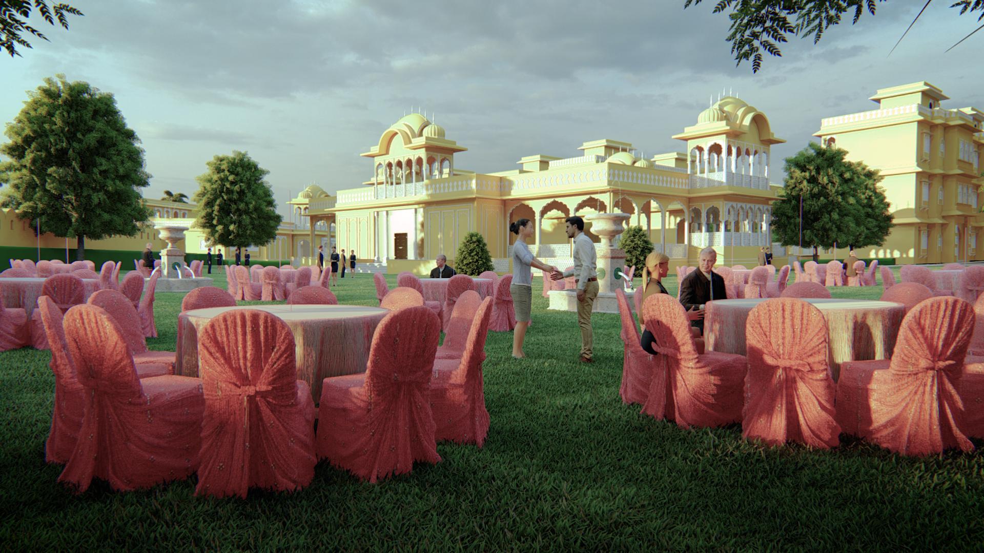 Jaipur Mahal 3