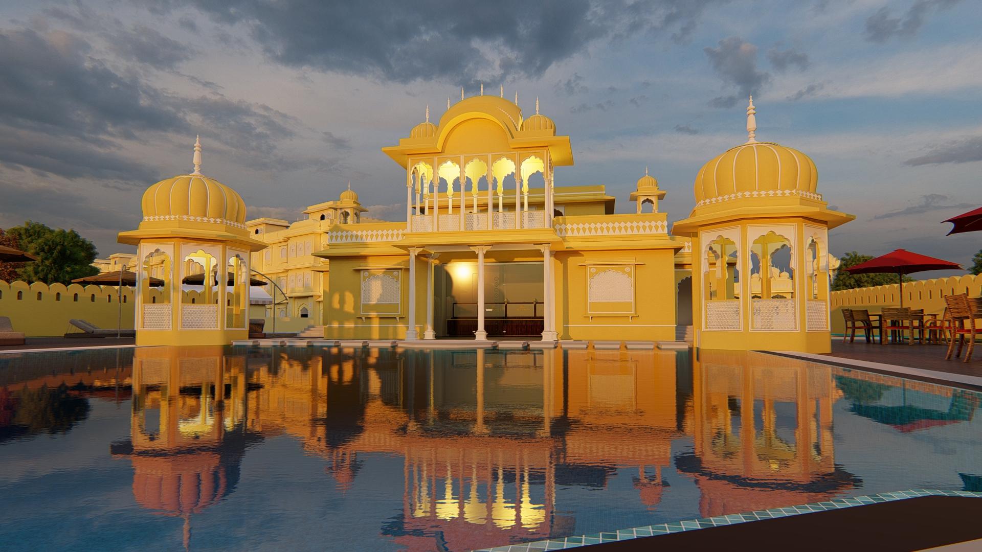 Jaipur Mahal 2